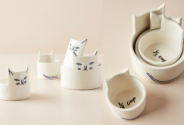 Thanksgiving hostess gifts | Kaye Blegvad Measuring Cup Set