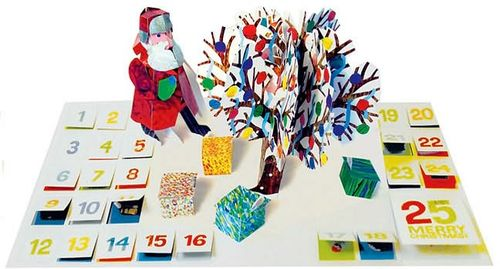 Coolest Advent calendars: Eric Carle calendar