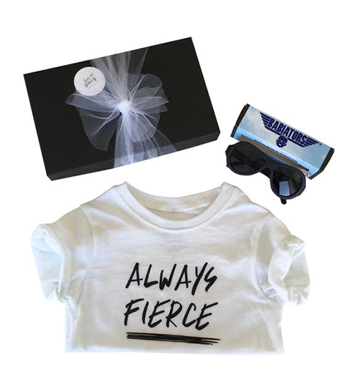 Coolest preschool gifts: Always Fierce gift set from Love Bubby
