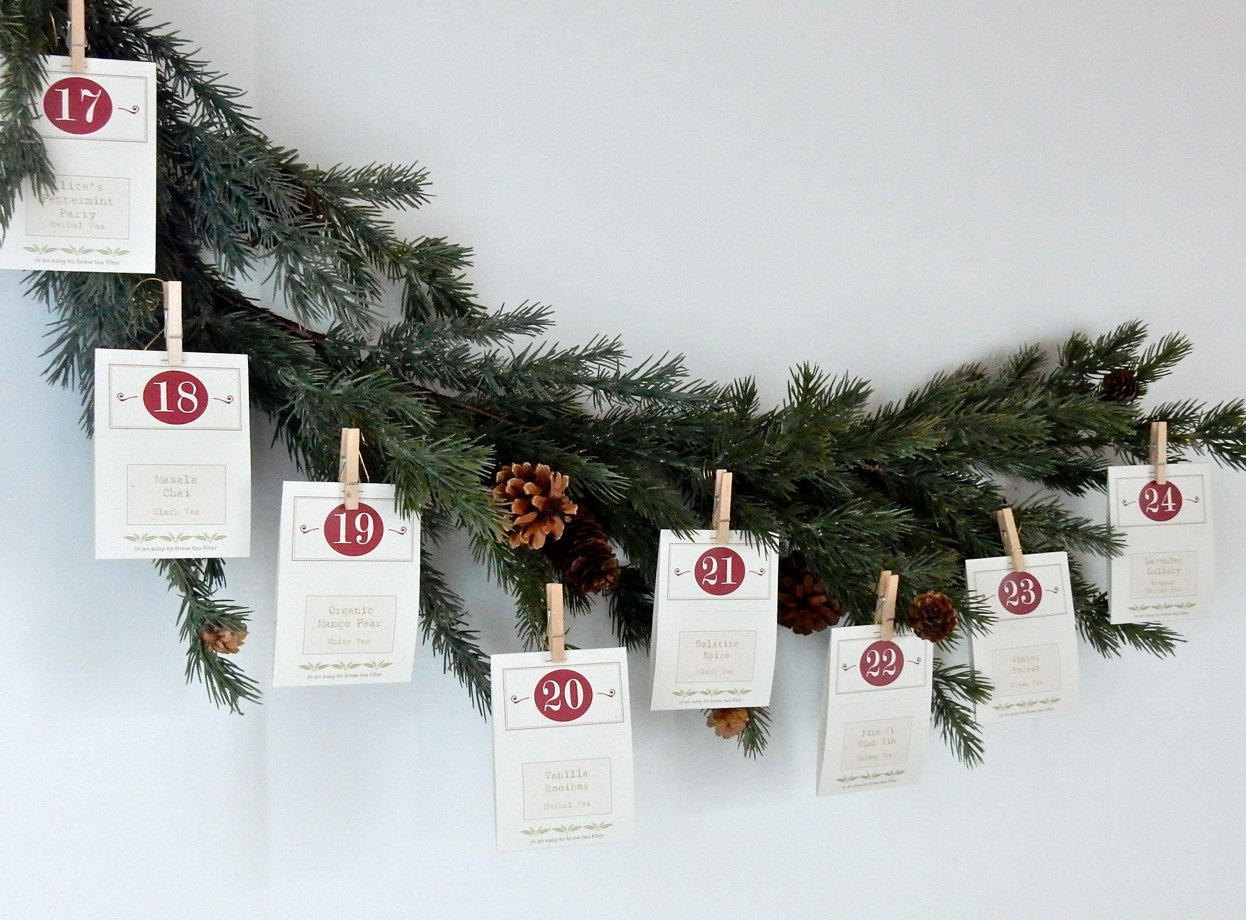 Coolest Advent calendars | ArtFul Tea Advent Calendar