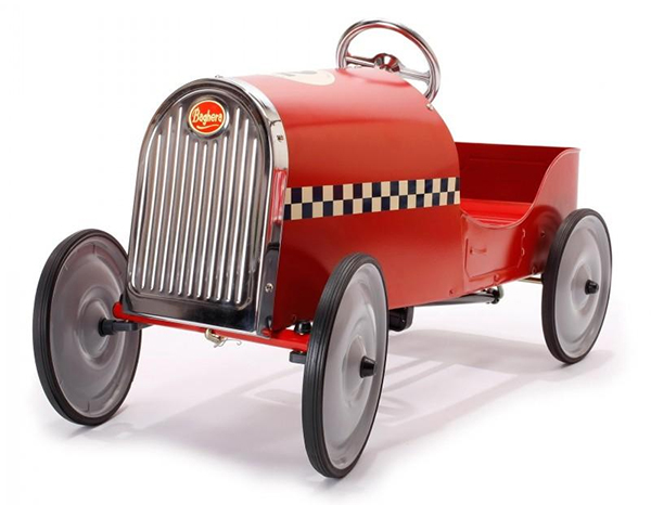 Coolest preschool gifts: 1920s style pedal car