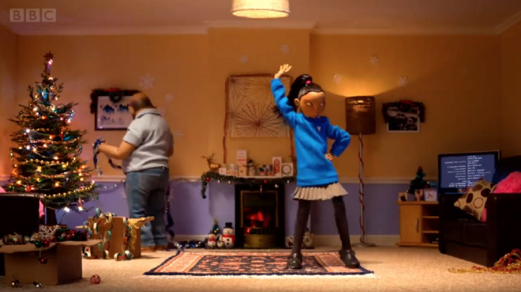 The best video! BBC ONE's animated daddy-daughter Christmas video fills us with all the feelings | coolmompicks.com