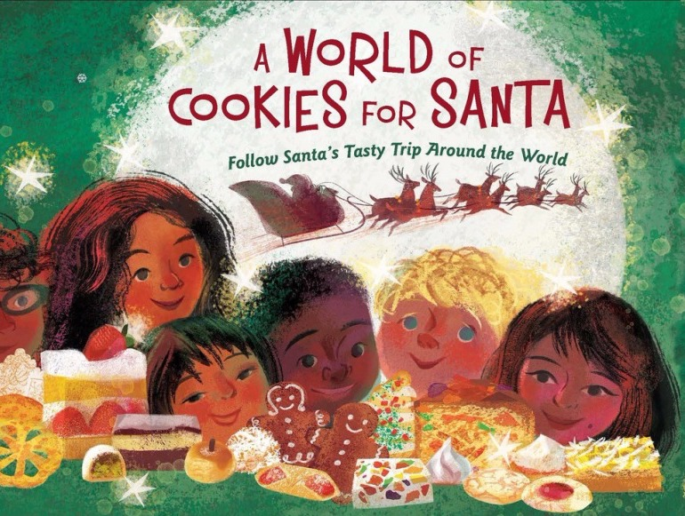 Best Christmas books for kids: A World of Cookies for Santa by M. E. Furman and Susan Gal
