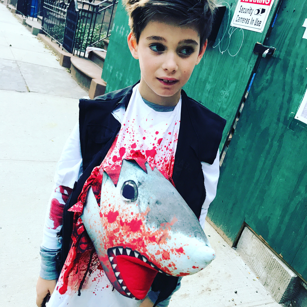 Best homemade kids' Halloween costumes of 2017: Shark Attack via Stacie Billis