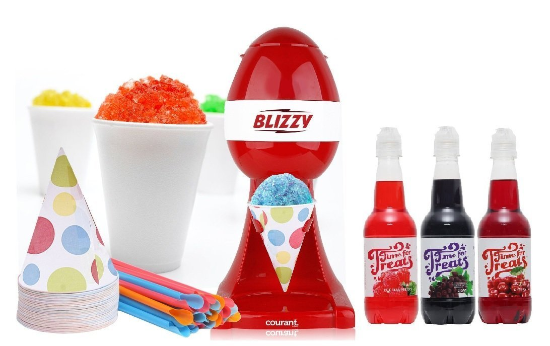 Awesome sno-cone maker with syrups | The coolest tween gifts