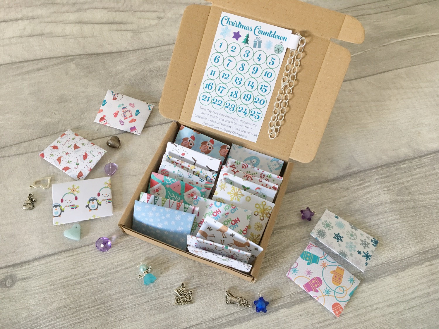 Coolest Advent Calendars | charm bracelet Advent calendar