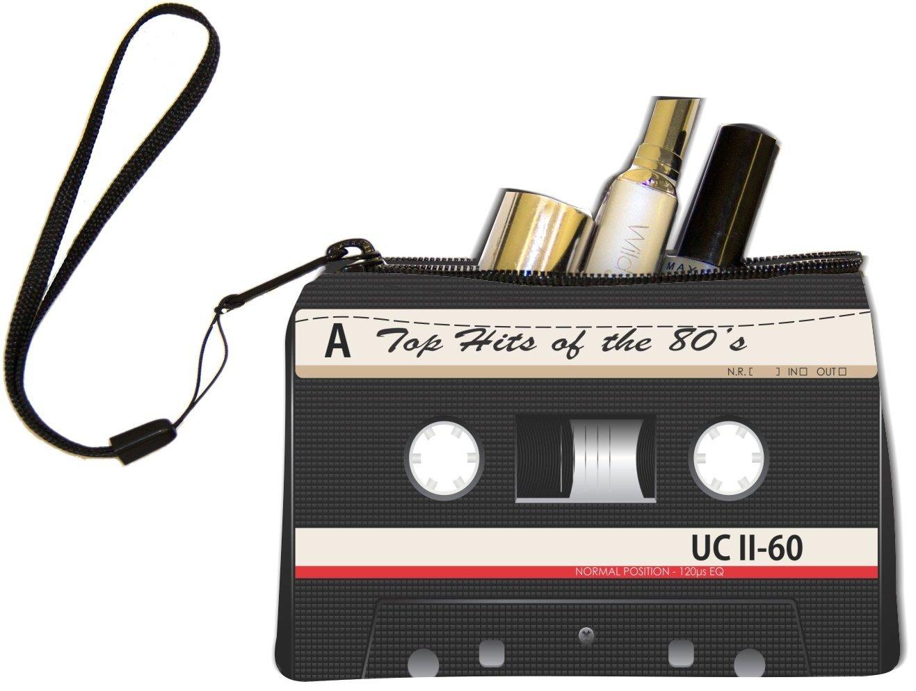 Cool pop bags for girls: Cassette tape wristlet