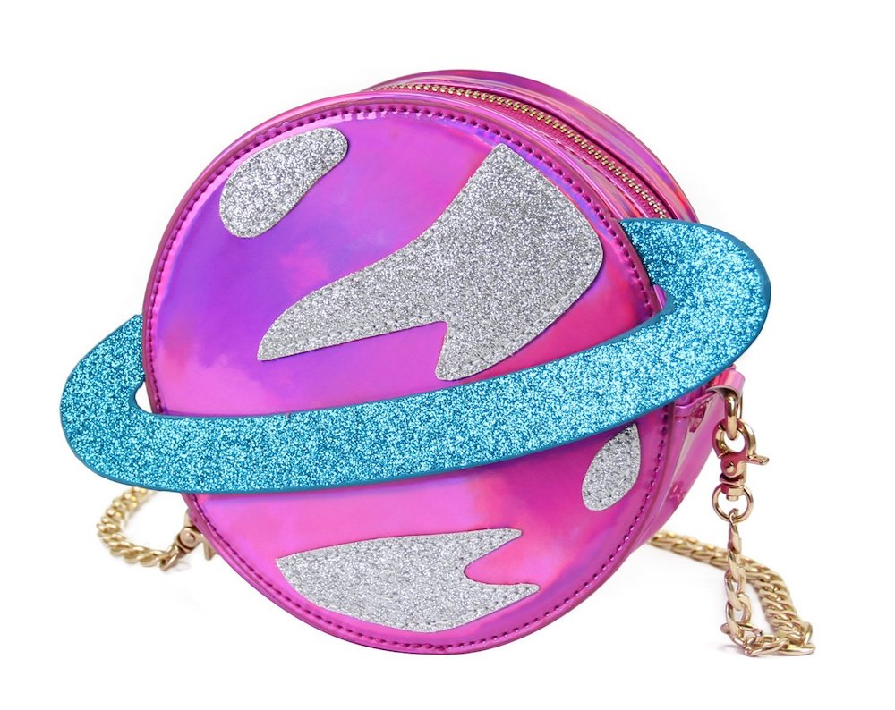 Cool pop bags for girls: Planet sling bag