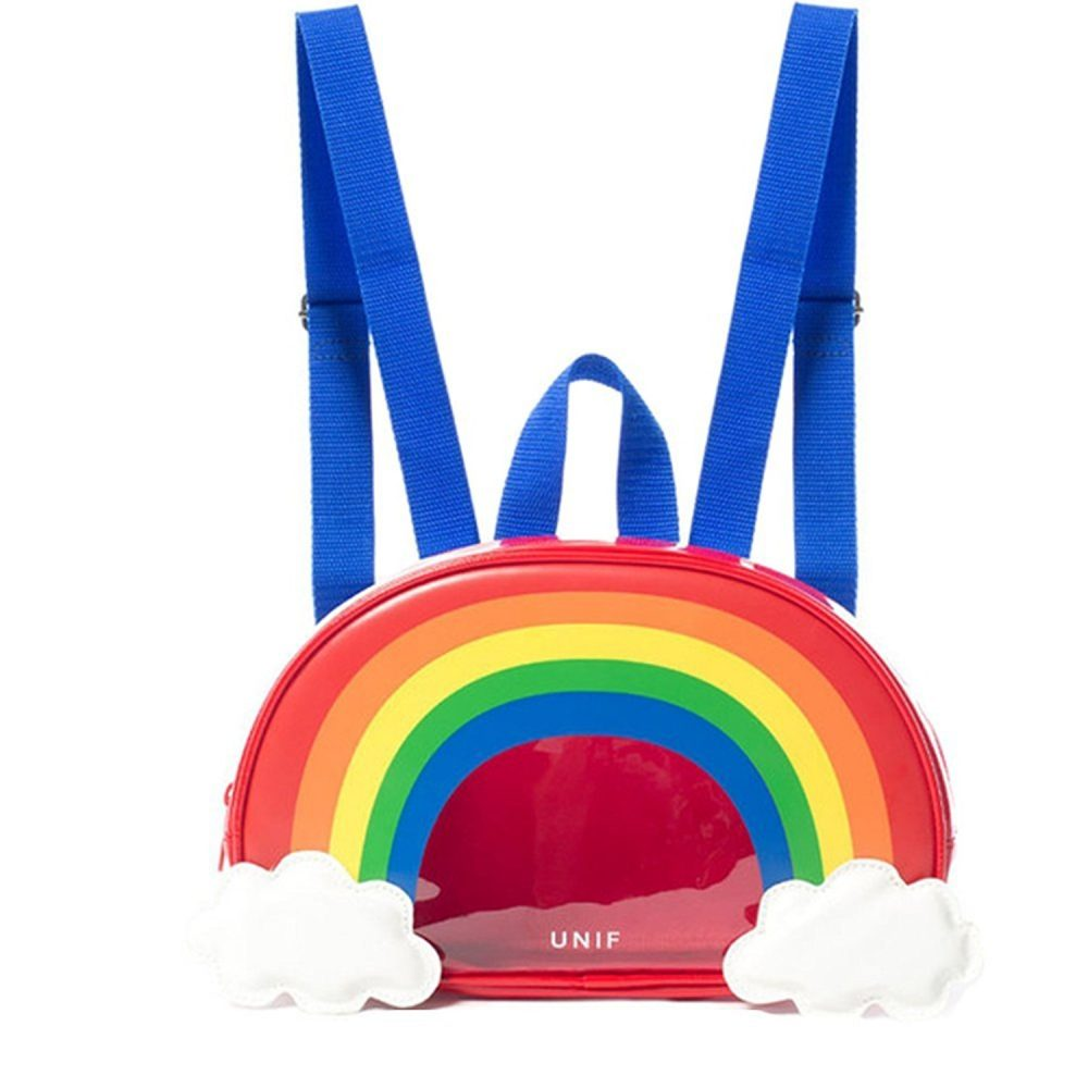 Cool pop bags for girls: Rainbow backpack
