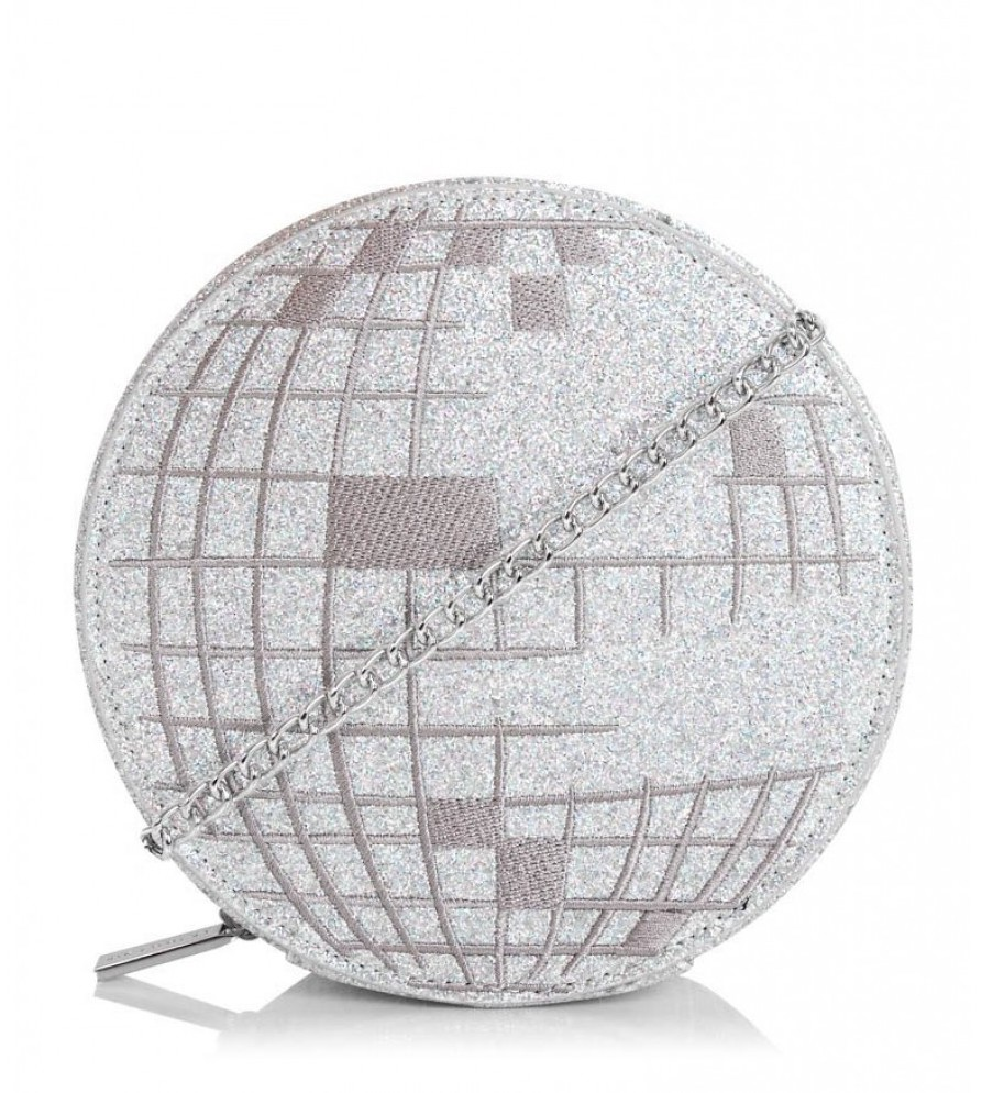 Sparkly disco ball mini handbag : Glam gifts for a female BFF