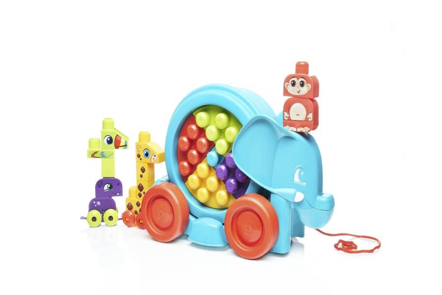 Fun building sets for kids: Elephant Parade | Sponsor