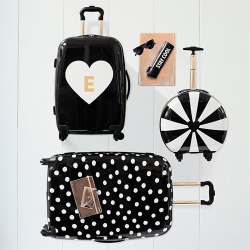 Emily + Meritt luggage in lots of sizes and cool designs : Coolest Tween Gifts of the Year