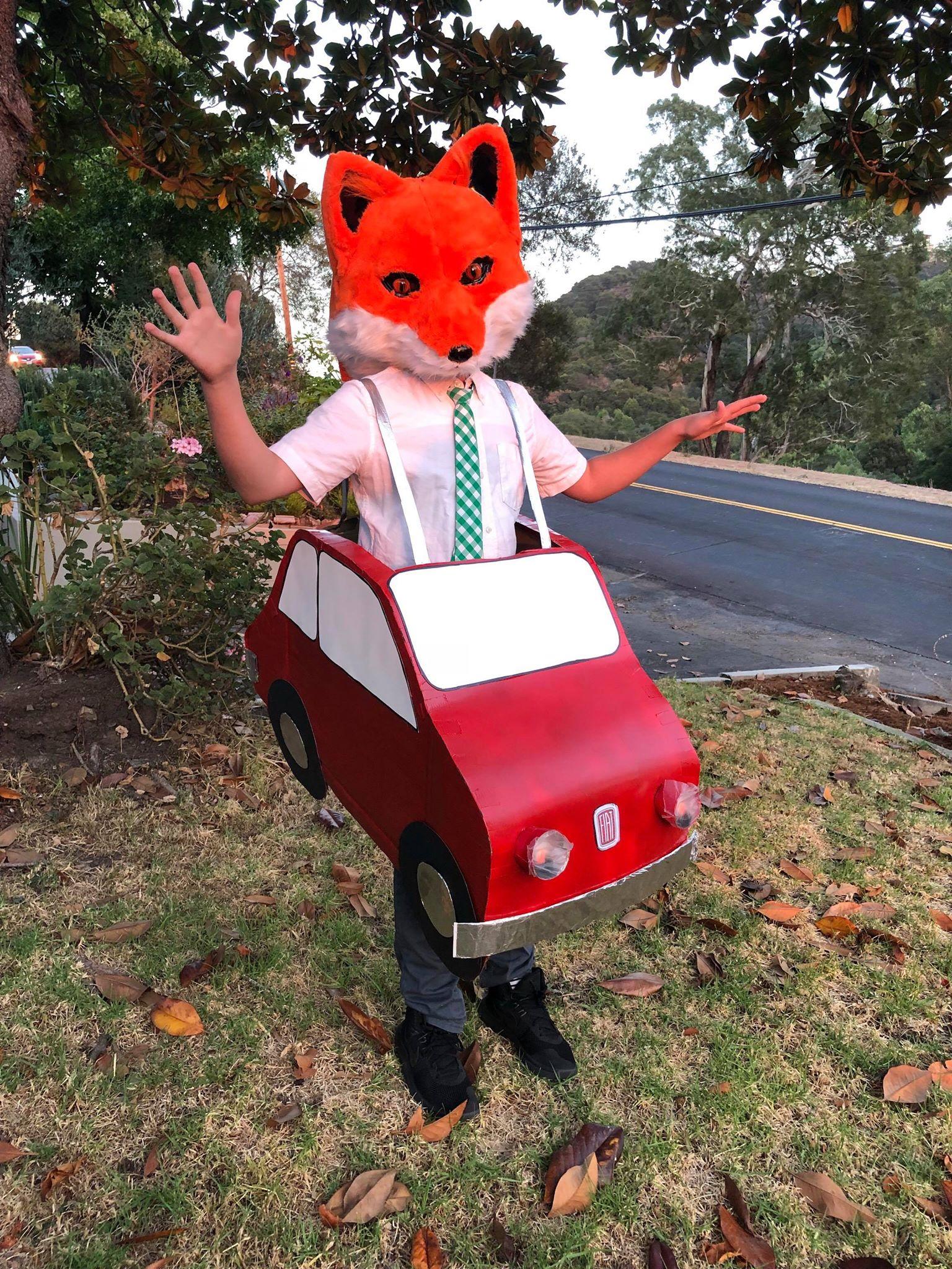 Fantastic Mr. Fox Best homemade Halloween costumes for kids   via Alexandra Tyler & Fantastic Mr. Fox: Best homemade Halloween costumes for kids   via ...