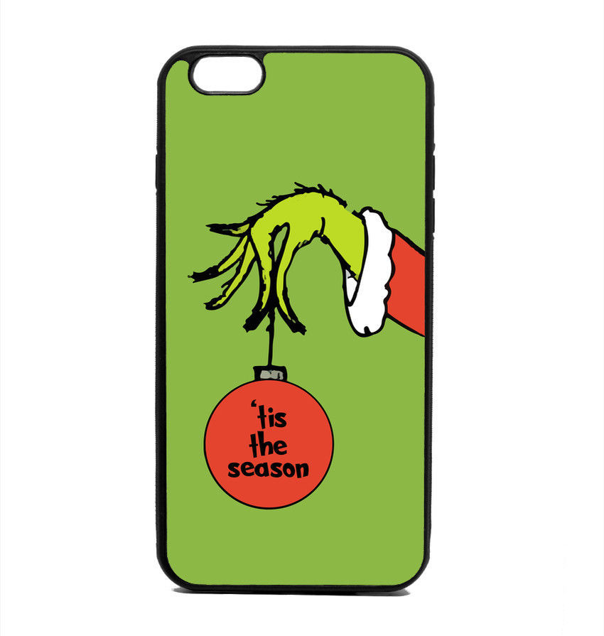 Grinch phone case: Cool kids' stocking stuffer ideas