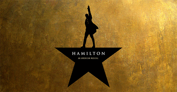 Hamilton ticket from the national tour : Coolest Tween and Teen Gifts of the Year