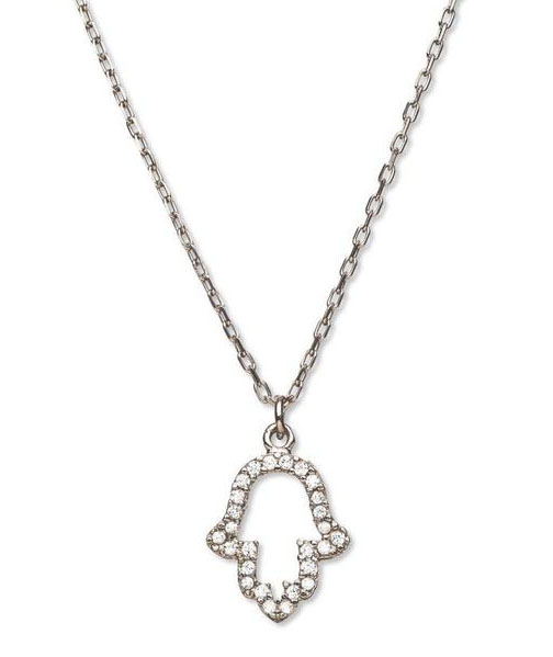 Cool Hanukkah gifts: Crystal Hamsa pendant from Modern Tribe