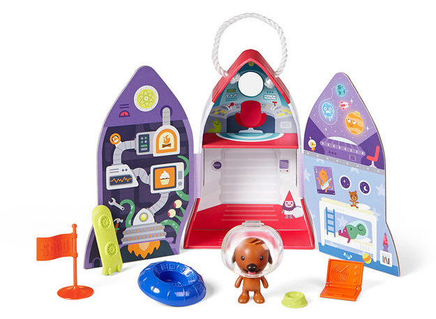 Coolest preschool gifts: Rocketship play kit