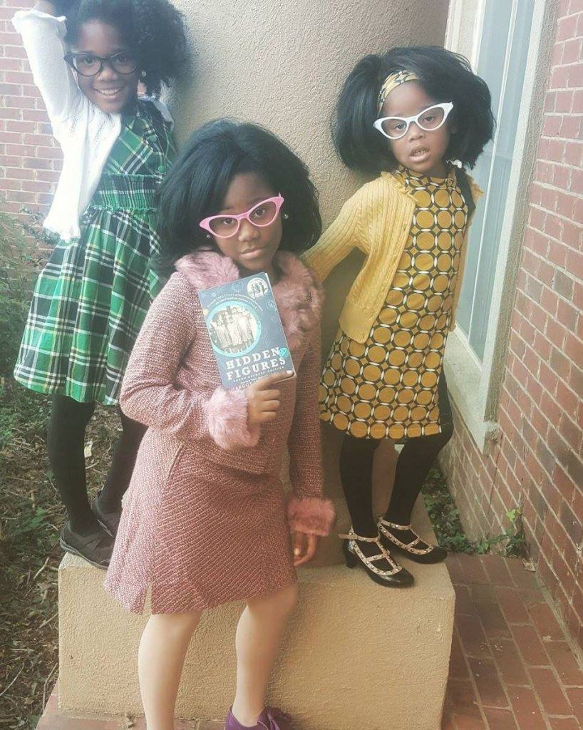 Hidden Figures Scientists: Best homemade kids' Halloween costumes of 2017 | Via The Brother on Facebook