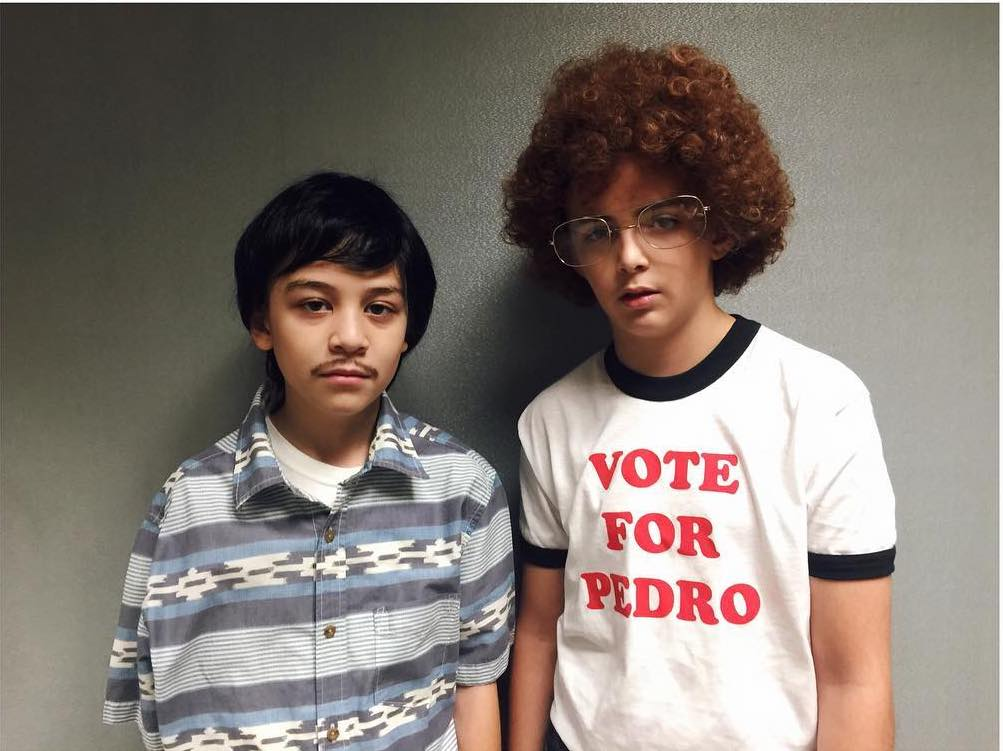 Best homemade kids' Halloween costumes of 2017: Pedro and Napoleon Dynamite from Daina Nadler