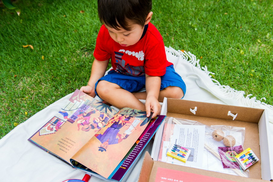 The Little Feminist book subscription box delivers monthly empowerment for kids.