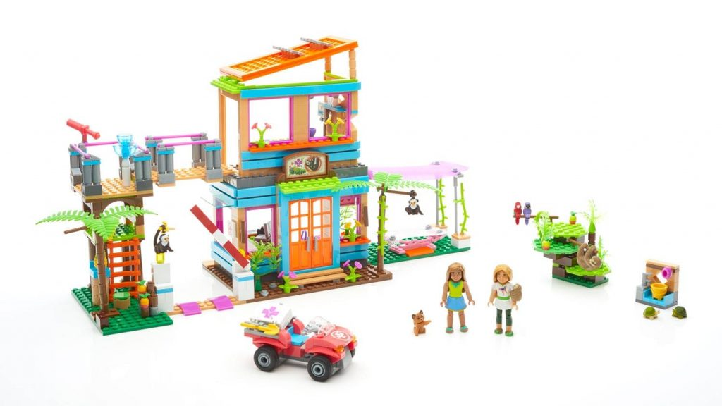 Fun building sets for kids: American Girls rain forest | Sponsor