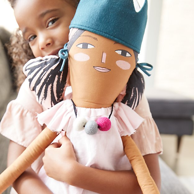 Coolest preschool gifts: Giant soft doll by Merille Lidiard