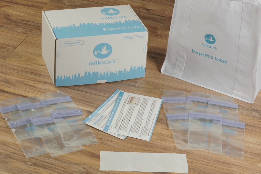 Milk Stork helps traveling moms get their milk back home to baby.