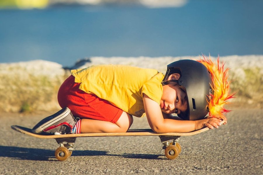 Coolest preschool gifts: Mohawk to add onto bike, skate or ski helmet