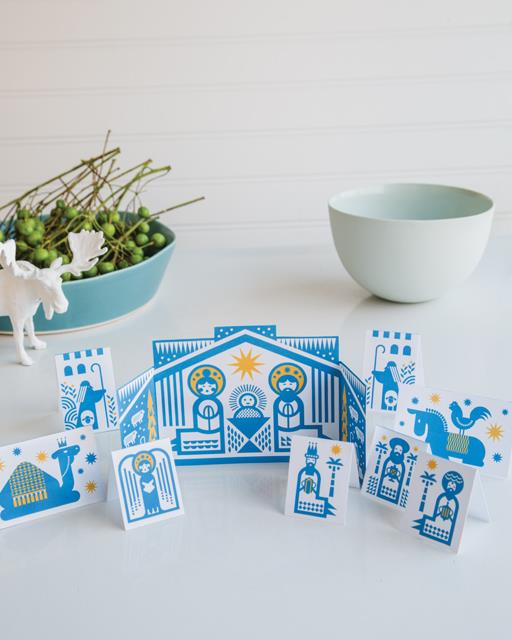 Modern nativity sets: Printable nativity set | Rob Wilson for Sweet Paul