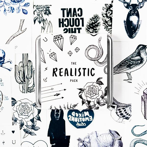 Realistic temporary tattoo set from Tattly | The coolest gifts of the year for tweens and teens