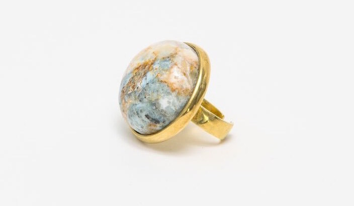 Shop for Good Sunday: Ketema Statement Ring by Raven + Lily