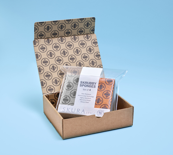 Skura Style antimicrobial sponges: Stylish and practical subscription box idea