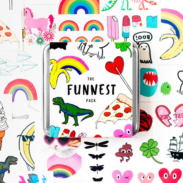 Coolest preschool gifts: Fun temporary tattoo pack by Tattly