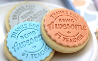 This cookie stamp lets you give back to teachers in an awesome (and delicious) way.
