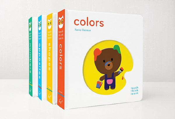 Best first birthday gifts: Touch Think Learn Book series
