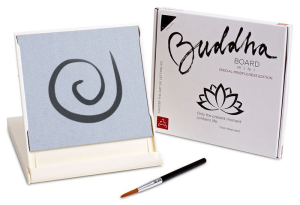Cool gifts under $15 for adults: Special white edition Mini Buddha Board