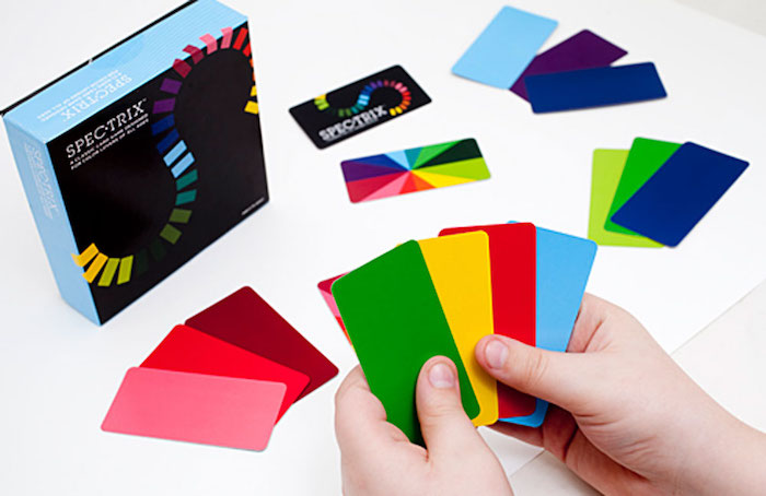 Cool gifts for kids under $15: Spectrix family card game