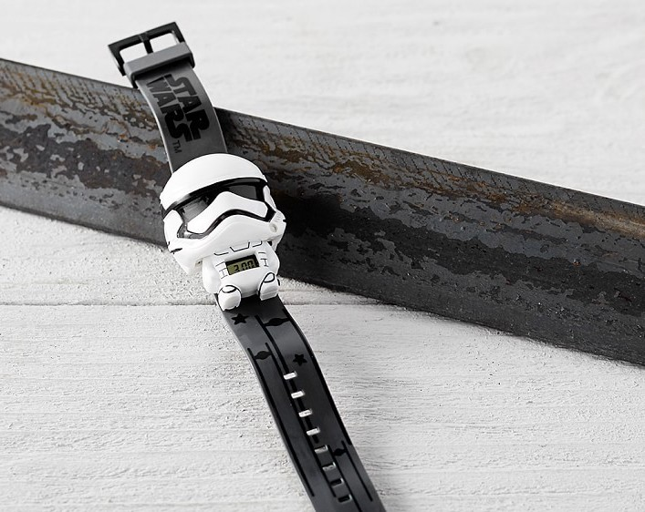 Cool gifts for kids under $15: Stormtrooper Wristwatch