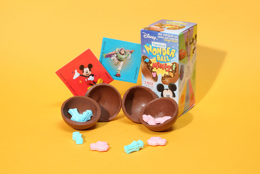 Creative stocking stuffers under $5: Wonder Ball filled with Disney mini treats | sponsor