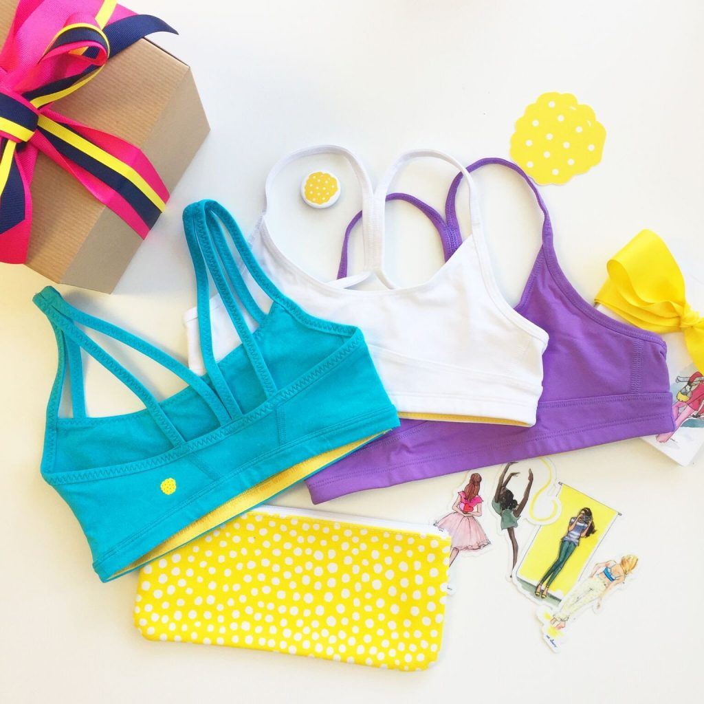 "Yellowberry's ""Kick It"" sports bra bundle: Awesome gift for empowered girls"