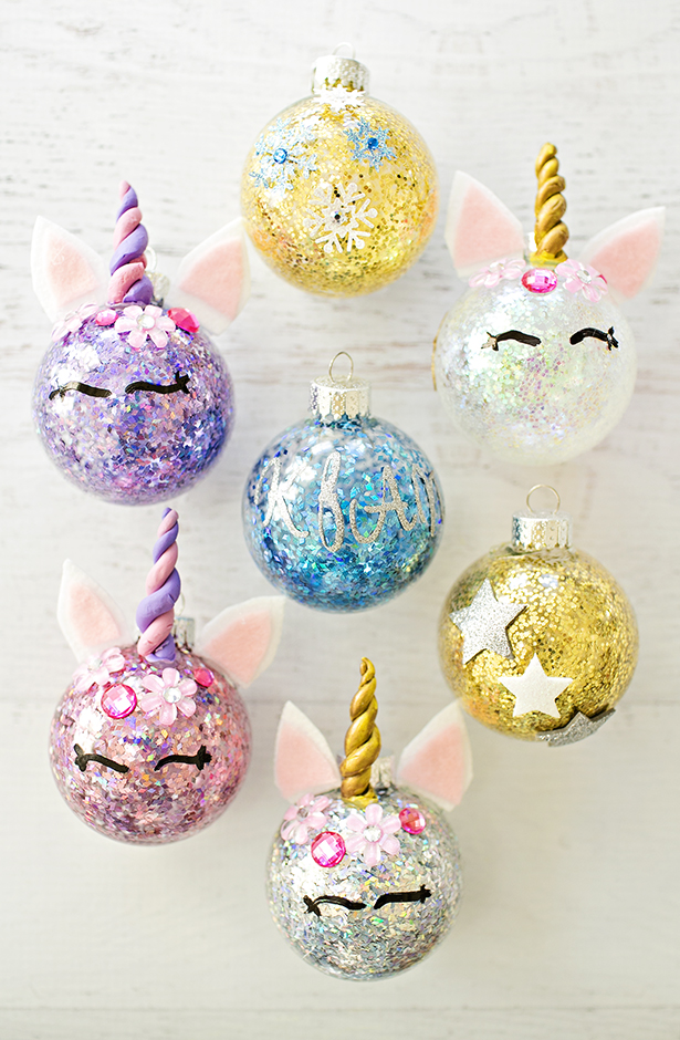 Last-minute holiday gift ideas: DIY Unicorn Ornament by Hello Wonderful