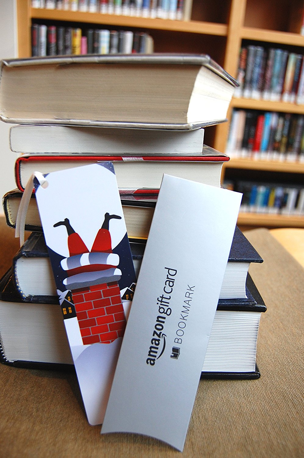 How to make gift cards more special: Order an Amazon gift card as a bookmark!