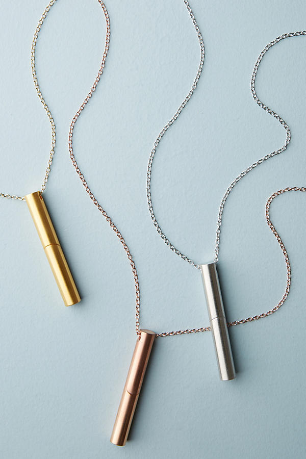 New mom gifts: Aromatherapy pendant necklace   Anthropologie