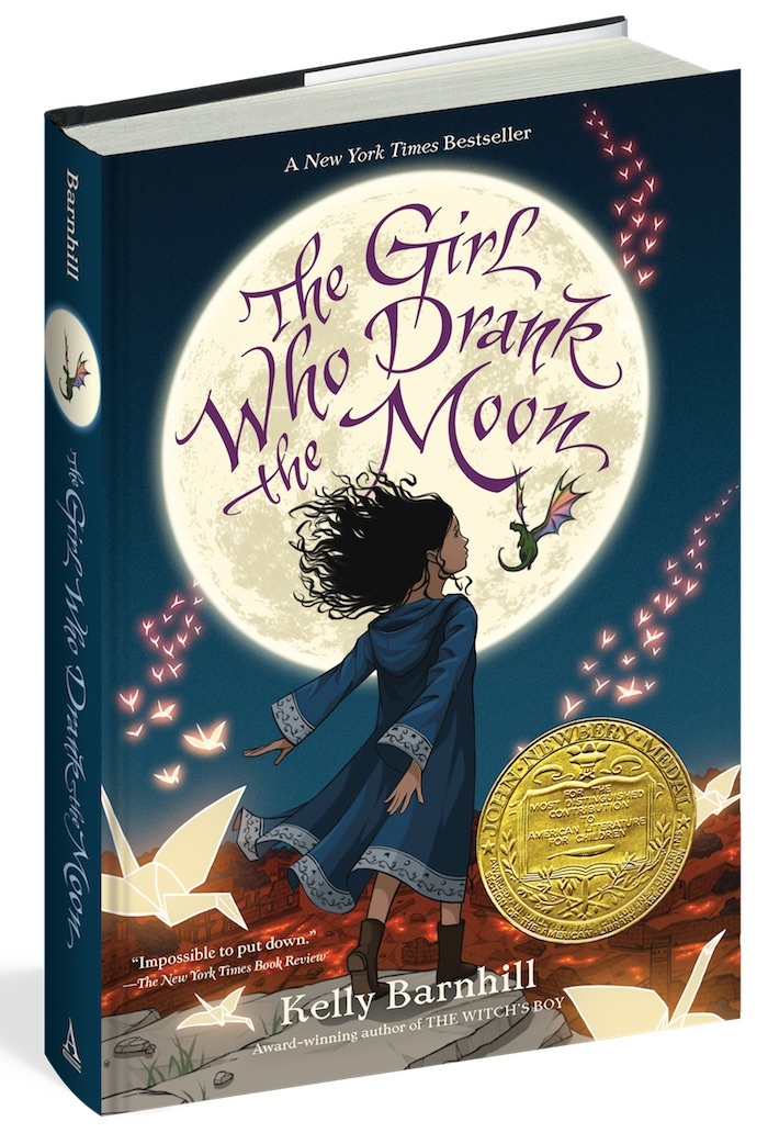 The best children's books of 2017: The Girl Who Drank the Moon by Kelly Barnhill