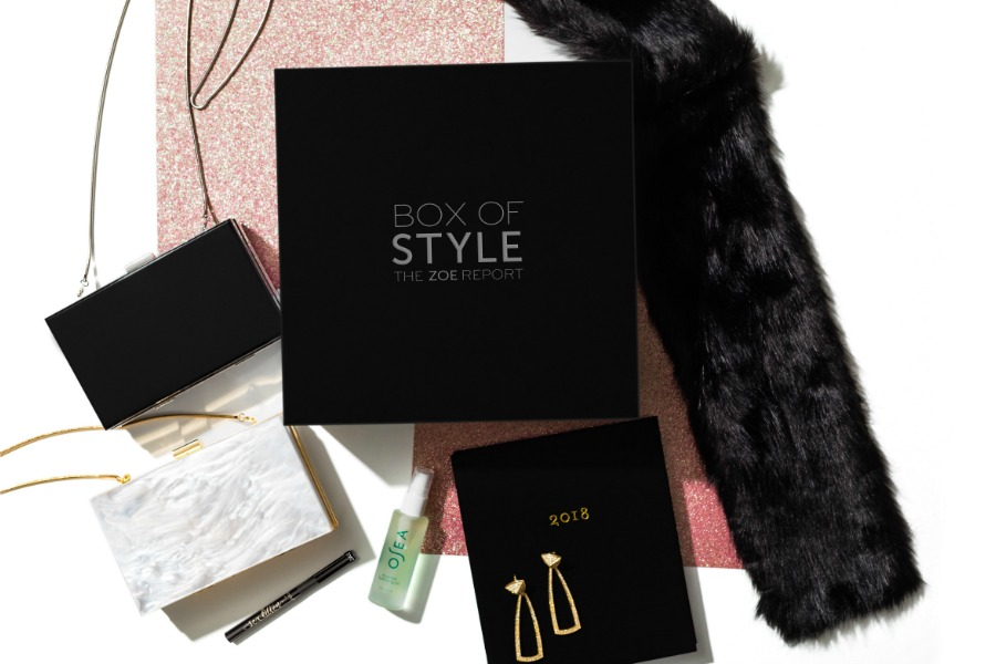 Box of Style Rachel Zoe curated winter box: Awesome last minute gift idea