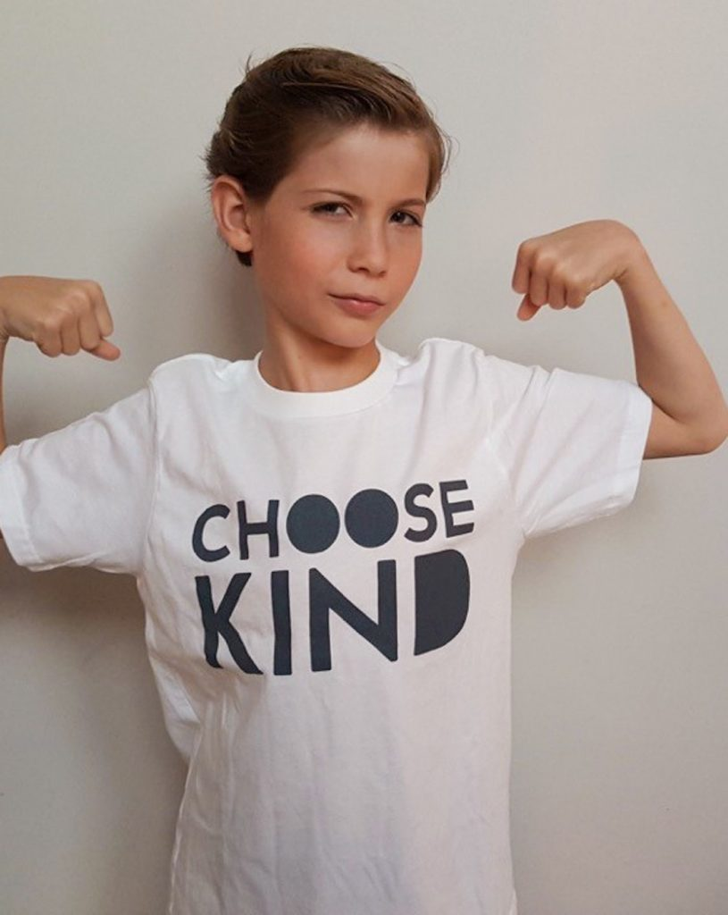 Choose Kind t-shirt on Omaze benefitting PACERs Bullying Prevention Center