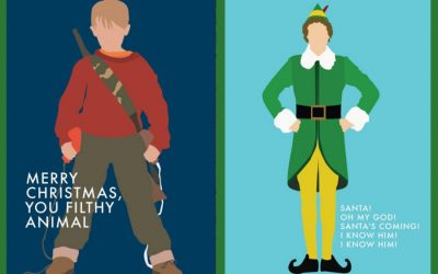 The coolest Christmas movie-inspired cards (ya filthy animal)
