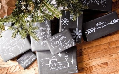 15 creative DIY holiday gift wrapping ideas that we love: Think outside the box. (Ha!)