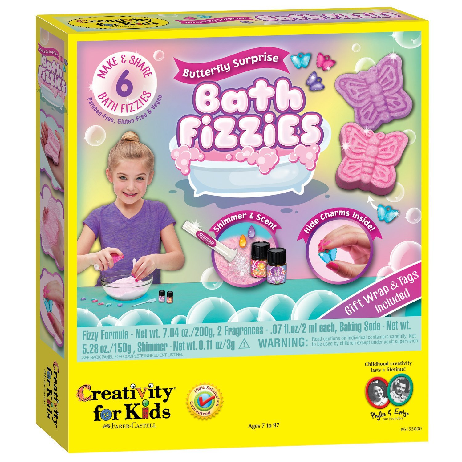 Creativity for Kids DIY bath fizzies craft kit: Great last-minute holiday gift