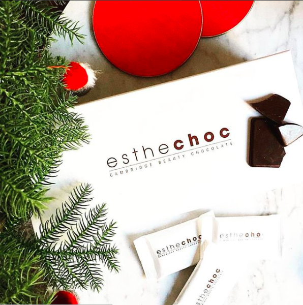 Last minute holiday gift: Esthechoc is chocolate...that's also proven to help anti-aging skin. And it's delicious! | sponsor